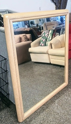 "Very chic 51"" x 41"" wall mirror"