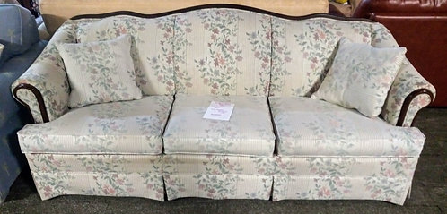 Gorgeous Victorian style floral sofa