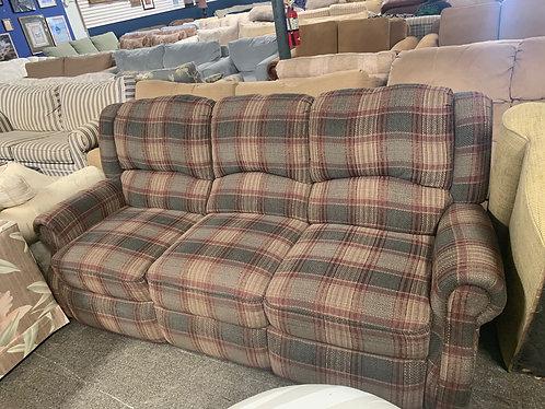 double reclainer sofa