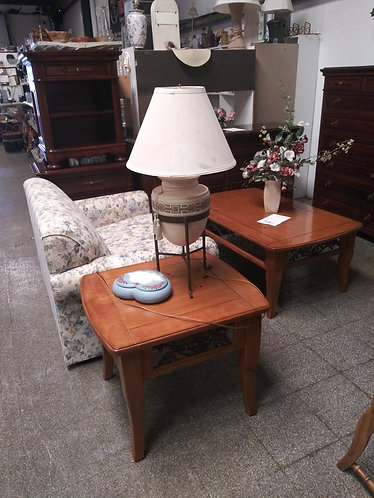 beautiful coffee table and  end table