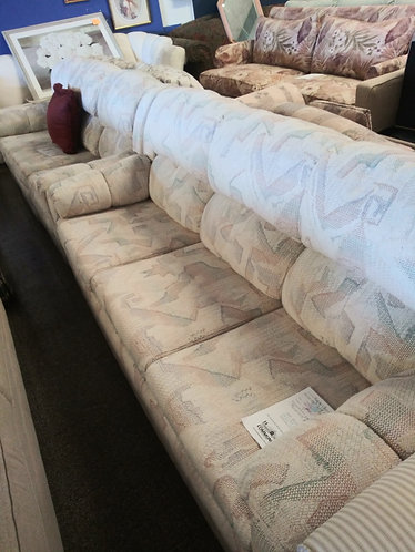 Sleeper Sofa with Cup Holders and Matching Loveseat