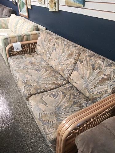"""""""Beach House Style"""" Rattan sleeper sofa"""