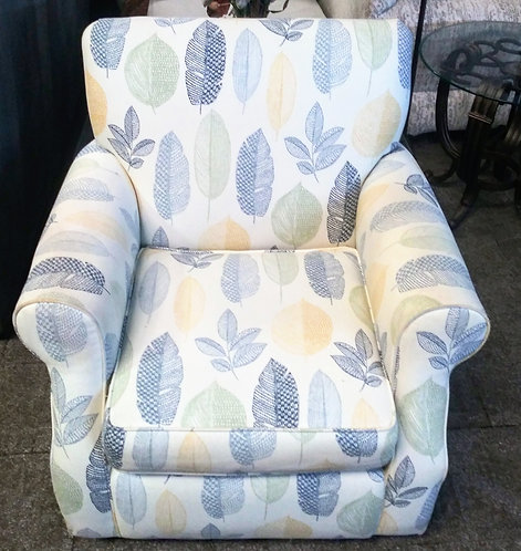 Gorgeous accent chair, almost new!