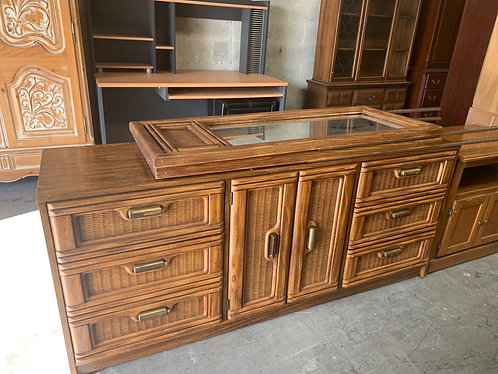 Dresser with 2 Mirrors