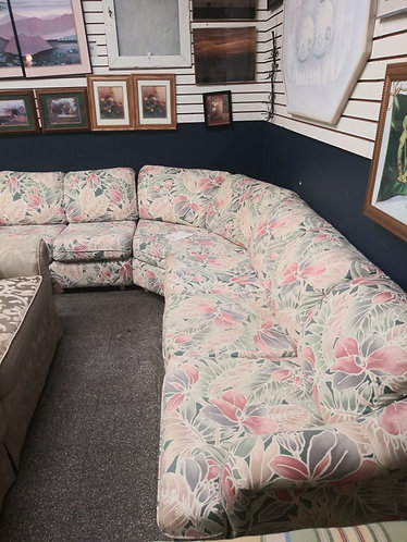 Beautiful Floral Sectional