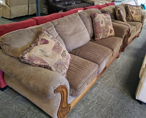Great quality sofa and love seat for half the retail price!
