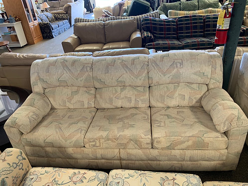 Sleeper Couch with Reclining Loveseat