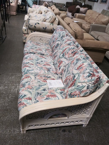 floral porch sofa