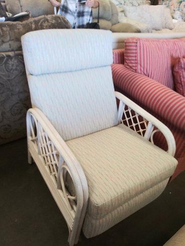 Beautiful fabric arm chair