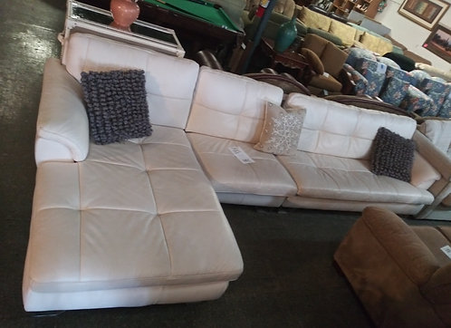 Immaculate Ashley Home Furniture leather sectional