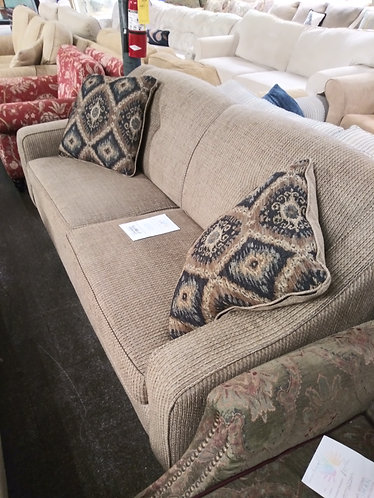 amazing brown fabric couch