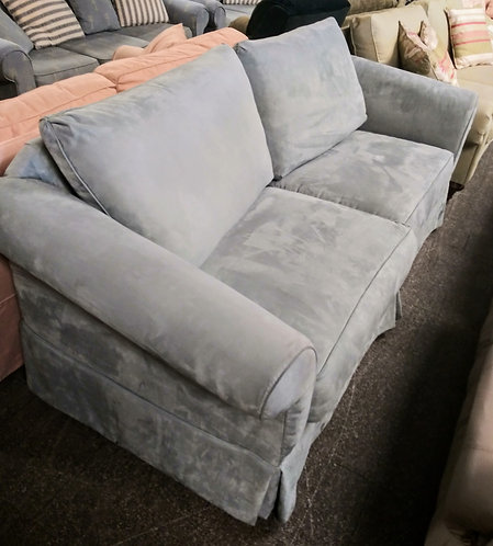 beautiful microfiber  and comfortable couch