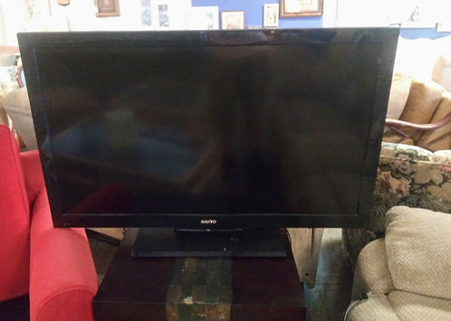 "46"" Sanyo flat screen T.V."