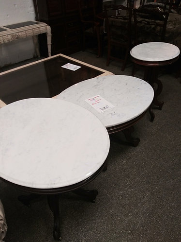 High Quality 3 piece marble tables