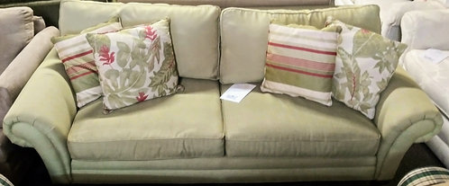 Gorgeous green sofa that will brighten up any room!