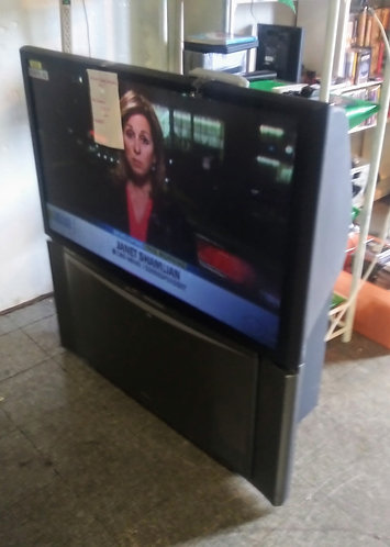 Projection TV, still has GREAT picture quality!