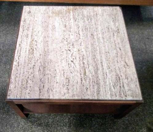 Unique granite top coffee table