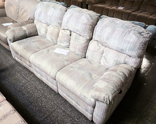 Double reclining cloth sofa that is made to last!