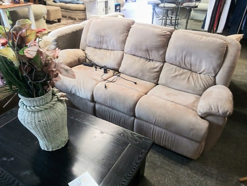 Clean double electric reclining sofa for half the retail price!