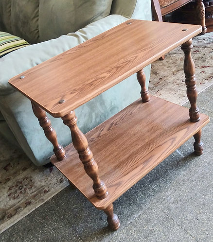 Nice and simple wood end table