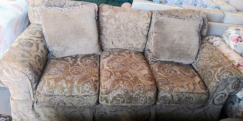Good quality patterned sofa