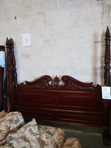 king bed frame set