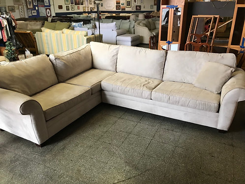 Havertys Microfiber Sectional couch