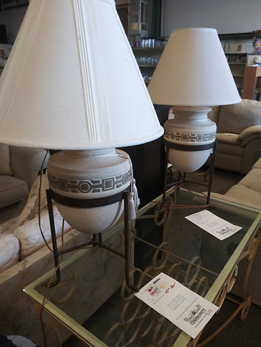 Set of 2 Gorgeous Lamps