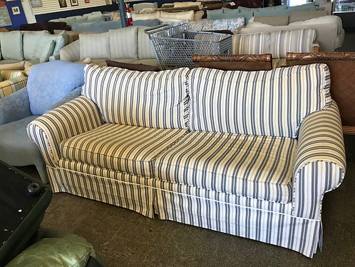 Striped Sleeper Couch