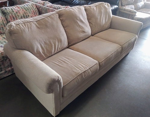 In high demand light colored sleeper sofa in pristine condtion!