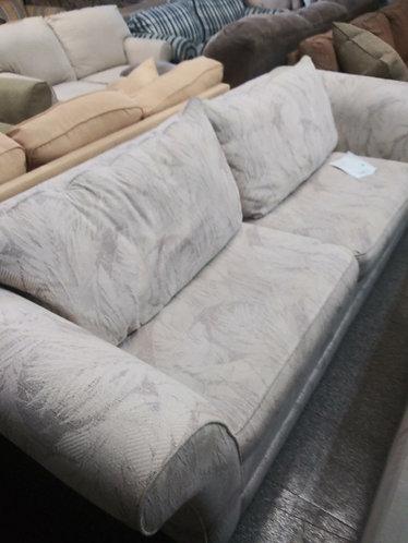 Floral patterned sofa