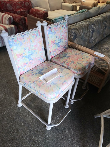 2 Gorgeous Colorful Stools