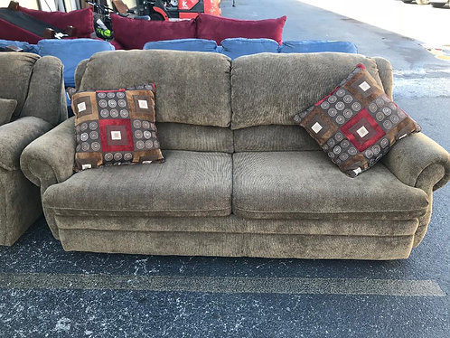 Sleeper Couch and Reclining Love Seat