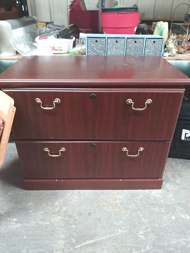 Small Roll top Cabinet