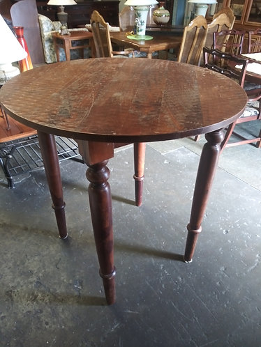 solid wood high table
