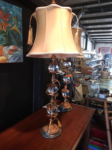 Set of 2 Exquisite Lamps