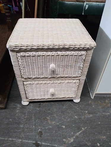 Wicker Nightstand