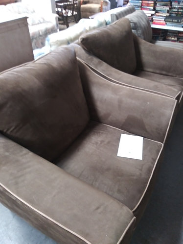 2 Like New Modern Arm Chairs