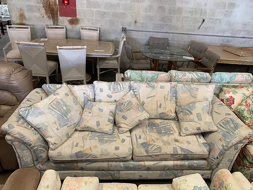 Retro Pattern Couch