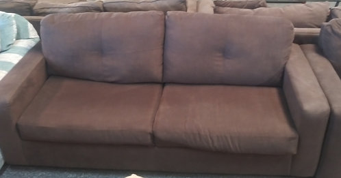 Very modern and super clean sleeper sofa and matching love seat