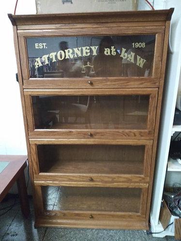 attorney book shelves Est 1908