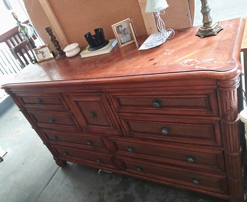 Solid wood dresser, great for a project piece!