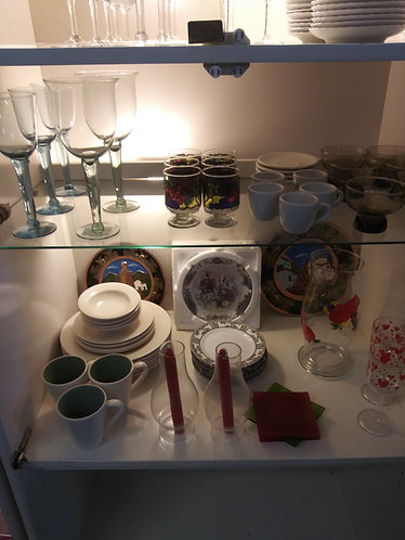 Assortment of China and Kitchen Decor!