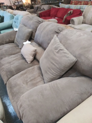 Affordable and Well Made Brown Sofa