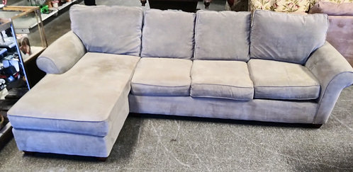 Gorgeous small tan sectional