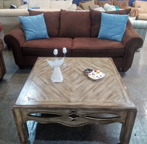 Clean, sofa, and comfortable sofa and love seat in great condition!