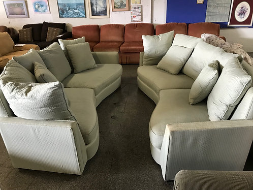 Pair of Blue Couches