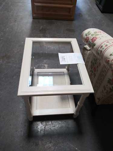 Glass Top Coffee  end table