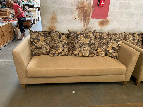 Tan Couch And Love Seat