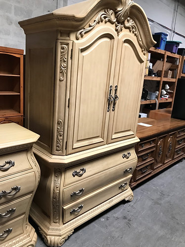 Beautiful Armoire, Dresser, and 2 Night Stands
